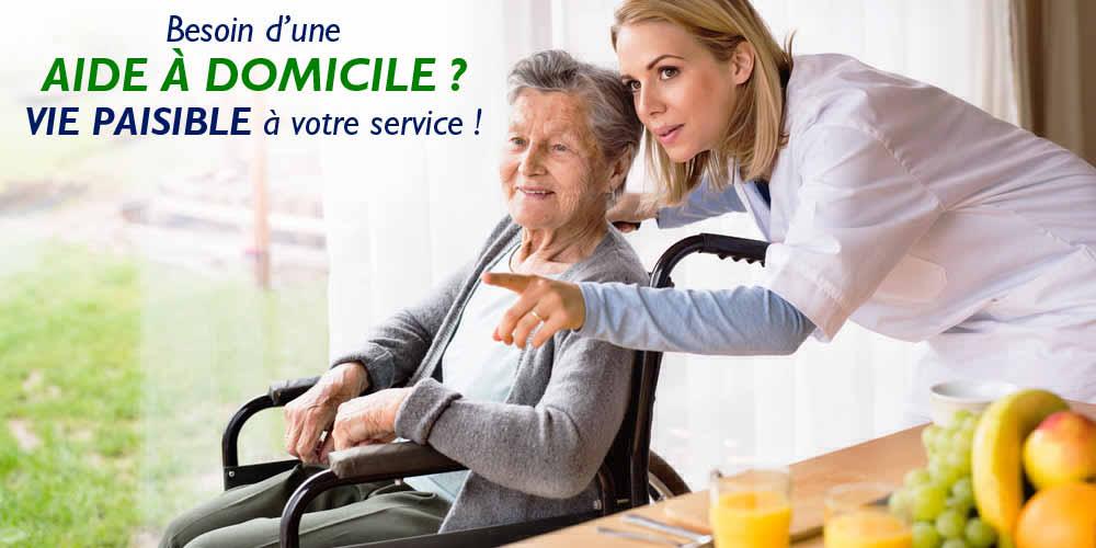 Aide à domicile pour personnes âgées ou handicapées ? Vie Paisible à votre service !