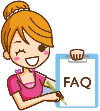 Femme de ménage répondant à une liste de questions