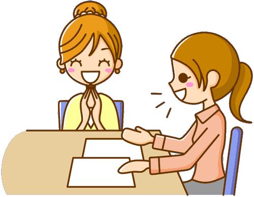 Aide à domicile heureuse de trouver un emploi !